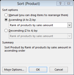 Power BI Pro Tip: Show Top x results with RANKX() function